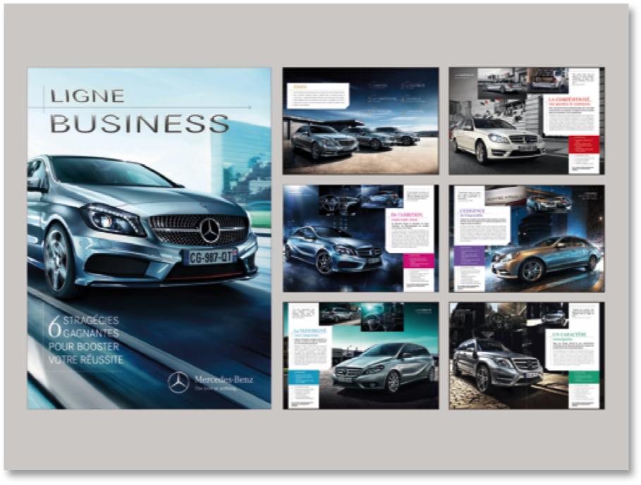 MERCEDES/ Offre Business Mailling Agence PROXIMITY BBDO
